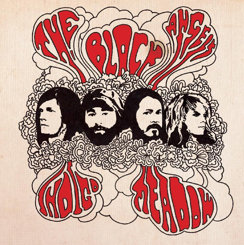 "This CD cover image released by Blue Horizon Ventures shows ""Indigo Meadow,"" by The Black Angels. (AP Photo/Blue Horizon Ventures)"