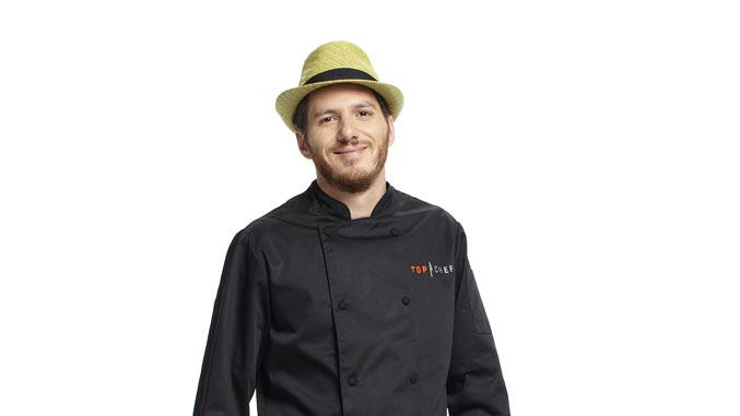 "Spike competes in the 8th season of ""Top Chef."""