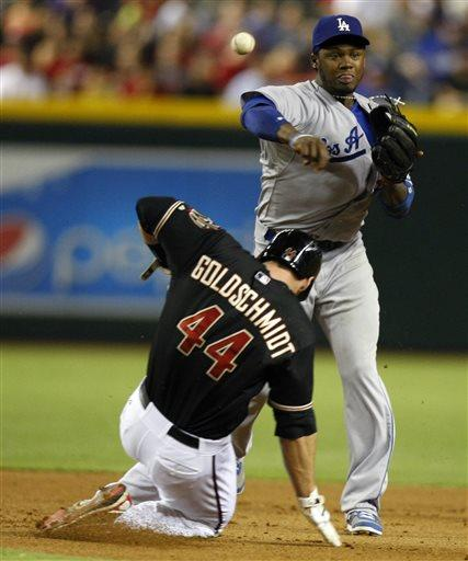 Greinke dominates as Dodgers beat Diamondbacks 6-1