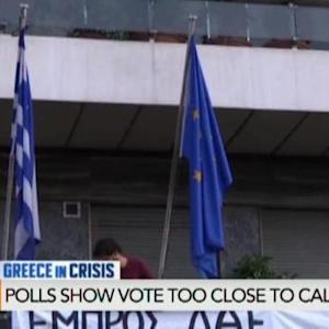 Polls Show Greek Vote Too Close to Call