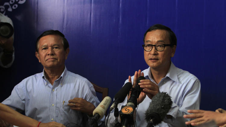 Cambodian opposition threatens general strike