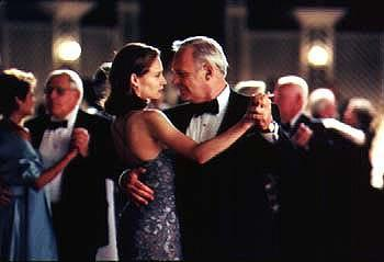 Claire Forlani and Anthony Hopkins in Universal's Meet Joe Black