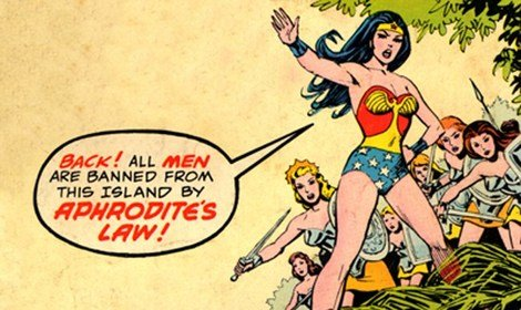 Has fear of strong women held back a Wonder Woman movie?