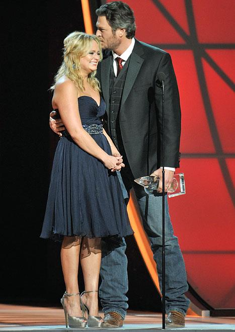 Blake Shelton, Miranda Lambert Deliver Emotional Acceptance Speech at CMA Awards