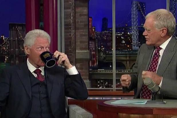 Bill Clinton to Appear on 'Letterman' Monday