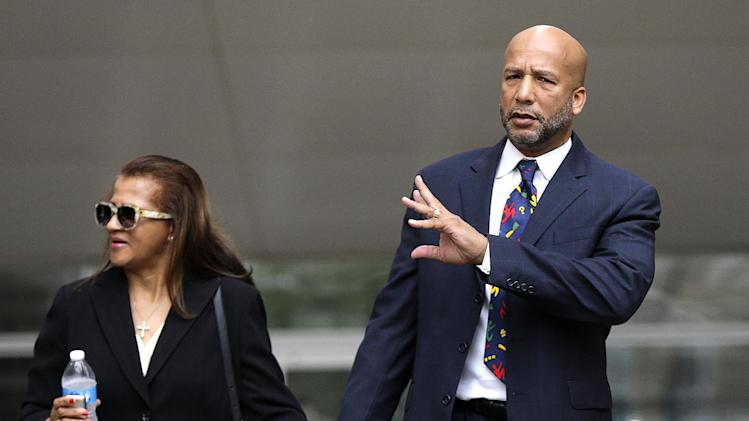 Nagin, after being sentenced in New Orleans, Wednesday, July 9, 2014