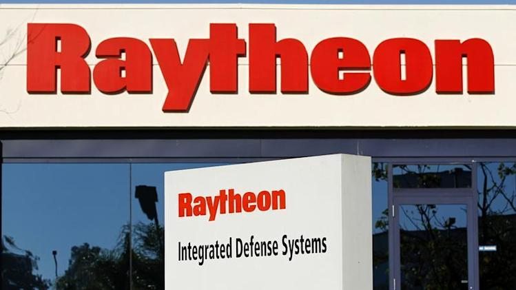 One of Raytheon's Integrated Defense buildings is seen in San Diego