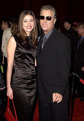 William Petersen and wife