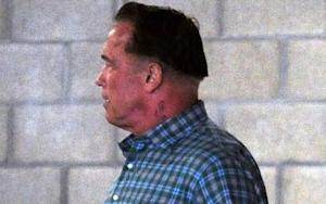 Arnold Schwarzenegger Defends His Honor, Silly New Haircut