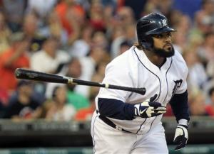 Fielder, Tigers rout reeling Indians 10-2