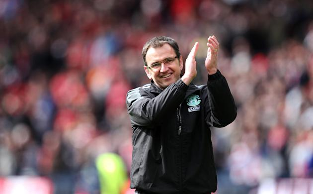 Hibs boss Pat Fenlon said Sunday's win over Hearts was 'long overdue'
