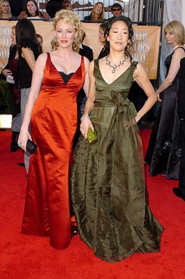 Virginia Madsen and Sandra Oh
