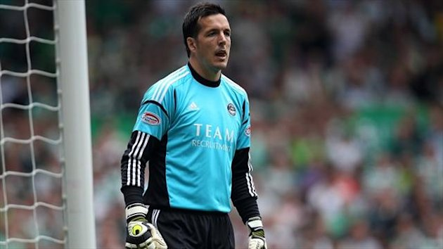 Jamie Langfield started Aberdeen's first game of the season last weekend