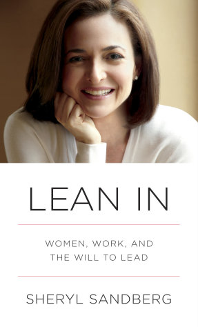 This book cover image released by Alfred A. Knopf shows &quot;Lean In: Women, Work, and the Will to Lead&quot; by Sheryl Sandberg. The book sold 140,000 copies its first week of publication and has gone back to press seven times for additional printings, publisher Alfred A. Knopf announced Wednesday. It has been at No. 1 on Amazon.com&#39;s best seller list since coming out March 11 and has also placed high on lists for Barnes & Noble and other sellers. (AP Photo/Alfred A. Knopf)
