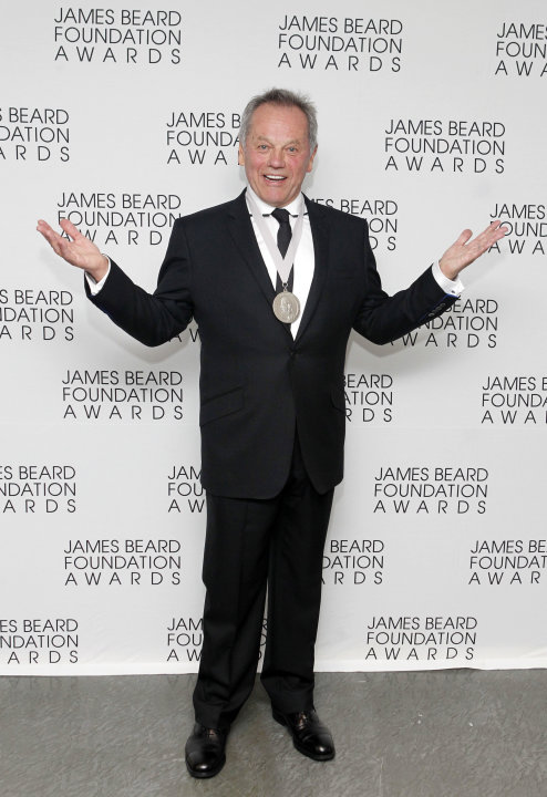 Chef Wolfgang Puck poses with …