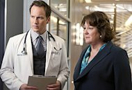 Patrick Wilson and Margo Martindale | Photo Credits: JoJo Whilden/CBS
