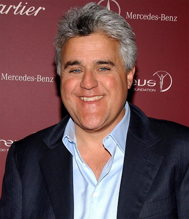 Jay Leno at A Legend of The Road Meets The Legends of Sports - Reception and Live Auction to Benefit The Laureus Sport For Good Foundation Hosted by Mercedes Benz and Cartier on March 16, 2004