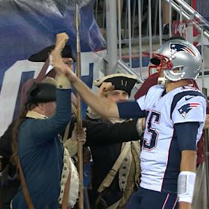 New England Patriots quarterback Ryan Mallett and the minutemen