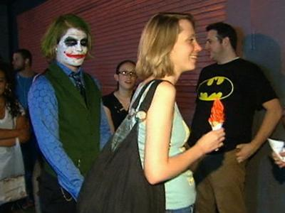 Raw Video: Dark Knight Rises, Fans Line Up Early
