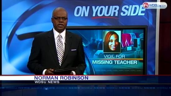 Community refuses to give up in the search for missing teacher