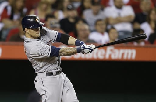 Castro's homer helps Astros beat Angels 6-3
