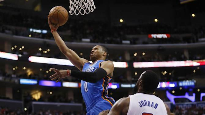 Thunder hold off Clippers for 107-101 victory