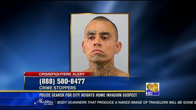 Police looking for suspect in City Heights home invasion robbery