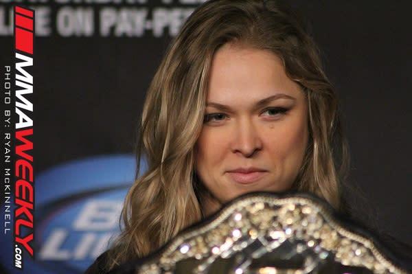 UFC Women's Champ Ronda Rousey Believes Fallox Fox Has Unfair Advantage