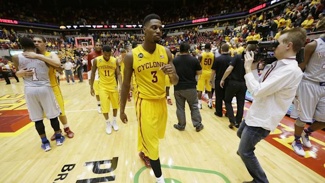 No. 8 Iowa State struggles on boards, 3-point line