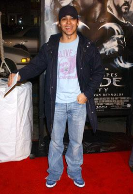 Wilmer Valderrama at the Hollywood premiere of New Line Cinema's Blade: Trinity