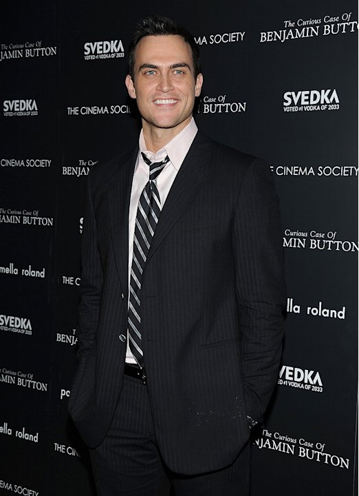 The Curious Case of Benjamin Button Screening 2008 NY Cheyenne Jackson