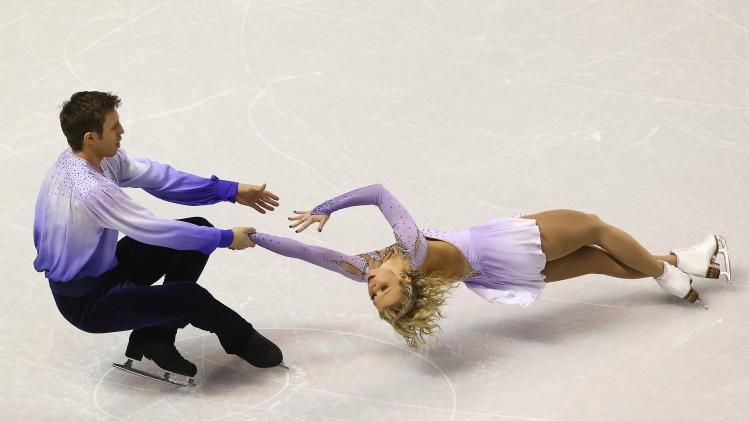 Figure Skating: World Championships-Pairs Free Program
