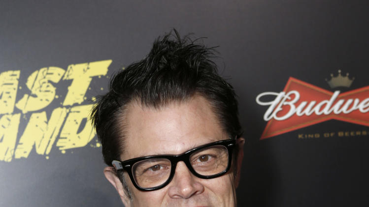 "Johnny Knoxville attends the LA premiere of ""The Last Stand"" at Grauman's Chinese Theatre on Monday, Jan. 14, 2013, in Los Angeles. (Photo by Todd Williamson/Invision/AP)"
