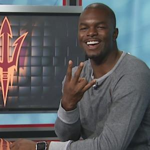 Former Arizona State WR Derek Hagan Guesses School Hand Signs