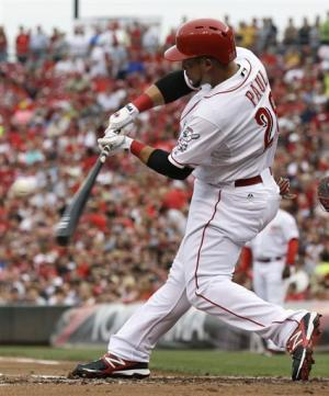 Reds beat Indians 8-2 for 2-game intrastate sweep