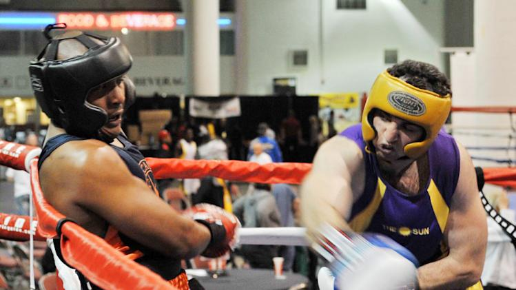 Boston Marathon Bombing Suspect Tamerlan Tsarnaev Boxing Pictures