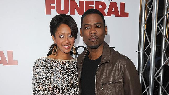 Death at a Funeral 2010 LA Premiere Chris Rock Malaak Compton
