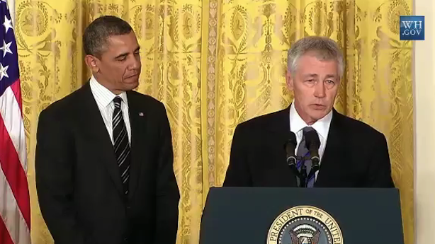 Obama Launches the Untouchable Hagel Defense