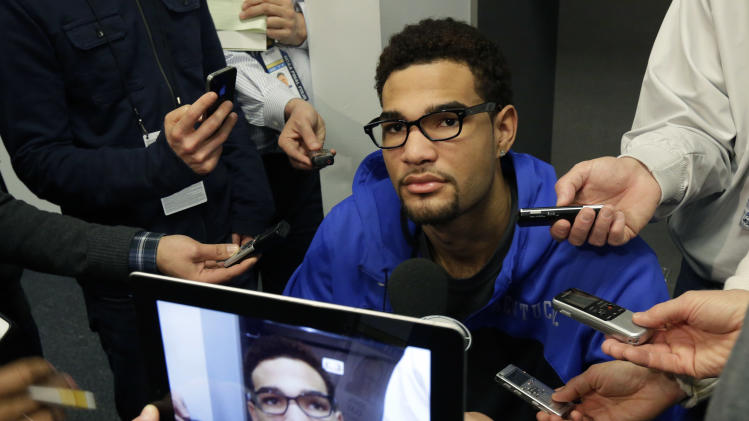 Kentucky's Willie Cauley-Stein out for title game