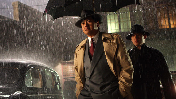 Shanghai The Weinstein Company Chow Yun Fat 2008 Production Stills