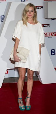 Fearne Cotton is effortlessly chic in white at UK Creative Industries Reception
