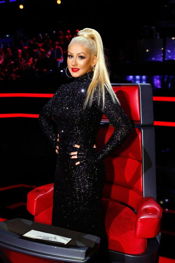 'The Voice's' Christina Aguilera Returns for Season 10