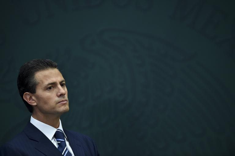 Royal welcome for embattled Mexican president in London