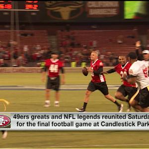 San Francisco 49ers greats say goodbye to Candlestick Park