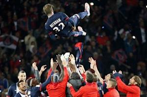 Emotional Beckham pays tribute to PSG