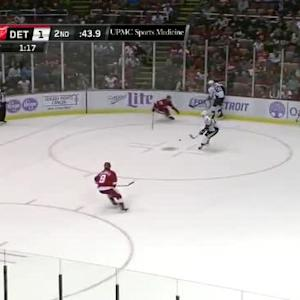 Jimmy Howard Save on Patric Hornqvist (19:19/2nd)