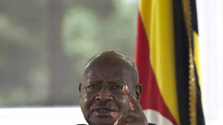 ... of Uganda, Yoweri Museveni, pictured in Kampala on August 2, 2014