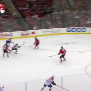 Keith Kinkaid Save on Derek MacKenzie (16:37/2nd)