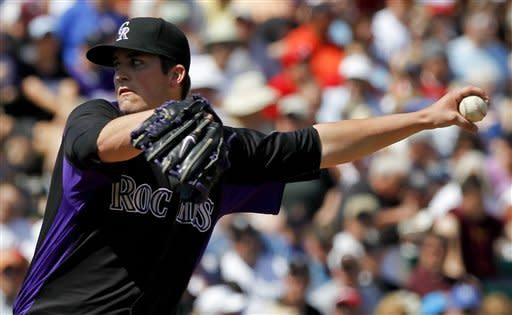 Pomeranz solid for Rockies in win over Angels