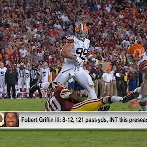 Is there still concern for Washington Redskins quarterback RGIII?